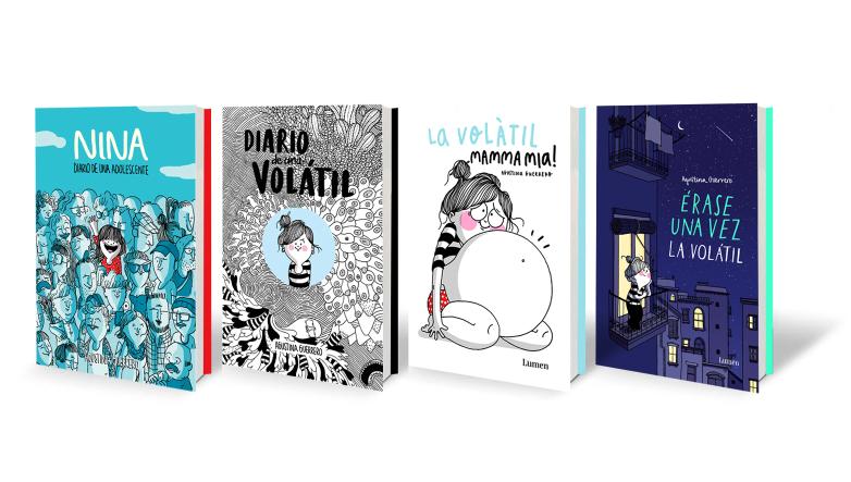 Agustina Guerrero, libros